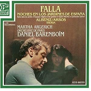 Orchestre de paris daniel barenboim isaac albeniz martha argerich manuel de falla falla - Noche en los jardines de espana ...
