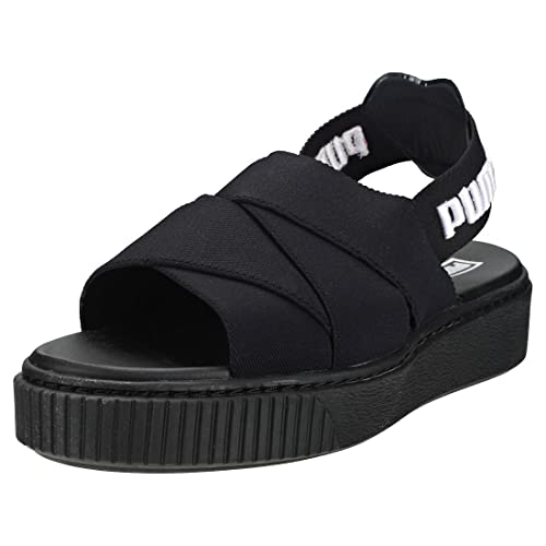 c683384434d2 Puma Platform Sandal Sandals Black  Amazon.co.uk  Shoes   Bags