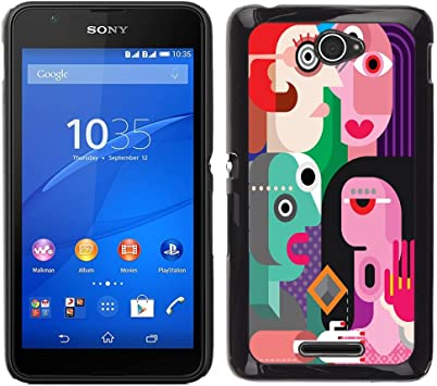 Skull Market - FOR Sony Xperia E4: Amazon.es: Electrónica