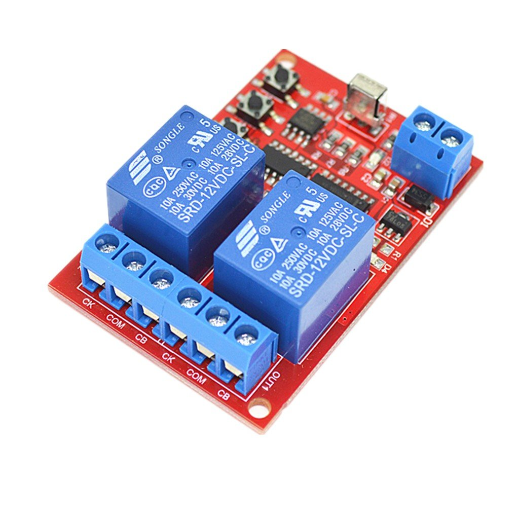 Magideal 2 Channel Infrared Receiver Ir Relay Driver Board Module Remote Control Switch Circuit And Applications 12v Car Motorbike