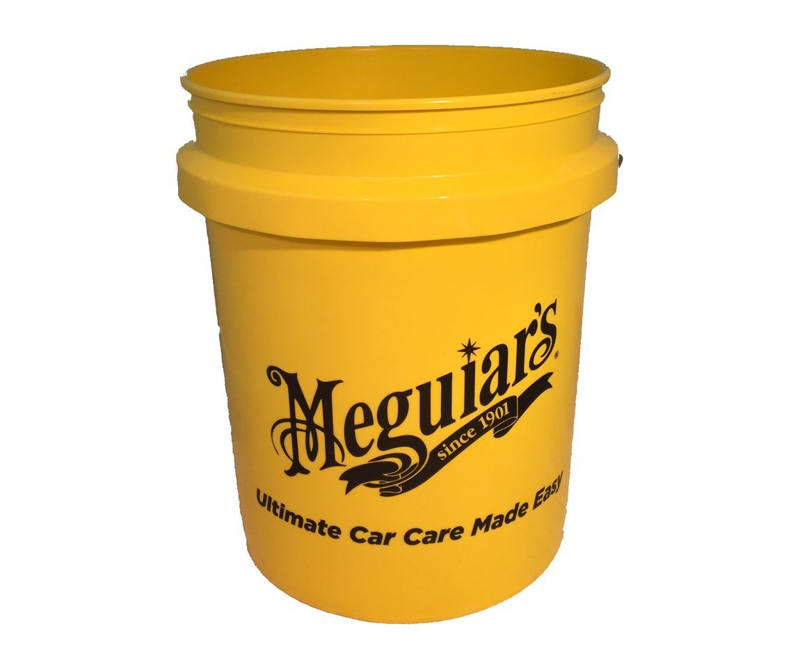 Meguiar's RG203 Yellow 5 US Gallon Bucket AutoStyle ME RG203