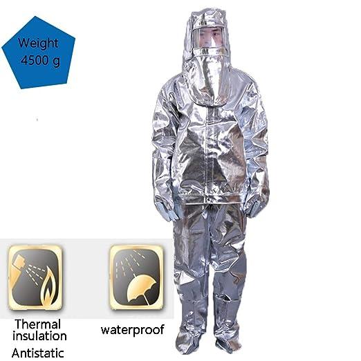 Prenda ProteccióN Ropa De Trabajo Aluminio Dividido Hombres Monos ...