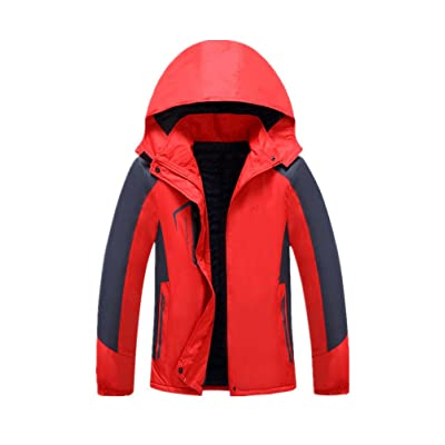 ANBOVER Womens Plus Size Snowboarding Jackets Warm Coat - Windproof, Outdoor