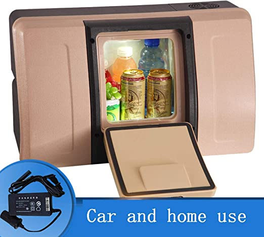 SSLL 18L Nevera De Compresor Portátil Mini Nevera Eléctrica Refrigerador Portátil para Automóviles,De Doble Uso Caja Aislada para Refrigerador para Automóviles Y Hogar,A-Home: Amazon.es: Jardín