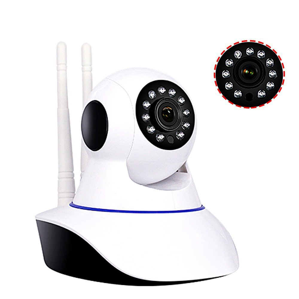 EFUTONPRO Security Cameras 1080P 960P 720P HD WiFi Home Surveillance Wireless IP Camera for Baby Elder Pet Nanny Monitor Pan Tilt Two-Way Audio with Night Vision (720P)