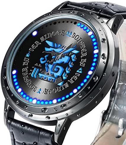 Wildforlife Monster Hunter Zinogre Icon Collector's Edition Touch LED Watch