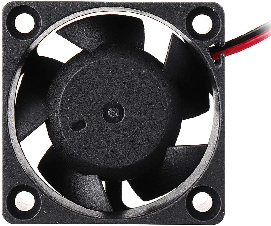 MUMUWU Cooling Fan 12v 404020mm 4020 Ball Bearing Sleeve with 2Pin Cable 3D Printer Accessories