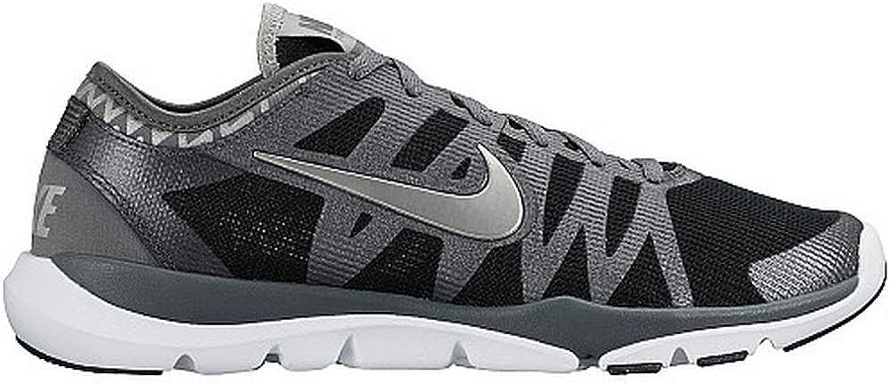 reserva Escrutinio Conmemorativo  Amazon.com | Women's Nike Flex Supreme TR 3 Print (11, BLK/GRY/WHT/SLVR) …  | Shoes