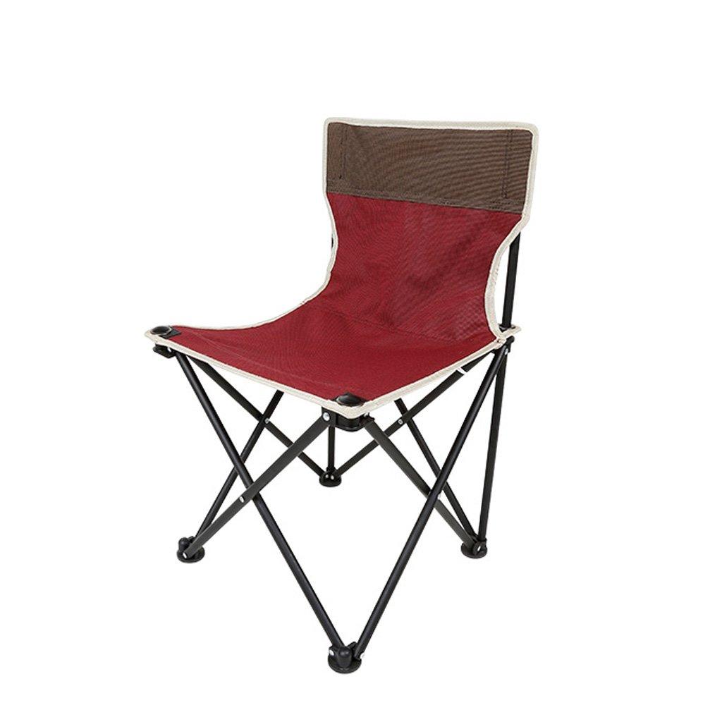 Homelx Freien beweglicher Klappstuhl-Fischen-Stuhl-ultra heller einfacher Art-Haushalts-Skizzieren-beiläufigen Stuhl-faltenden Camping-Stuhl
