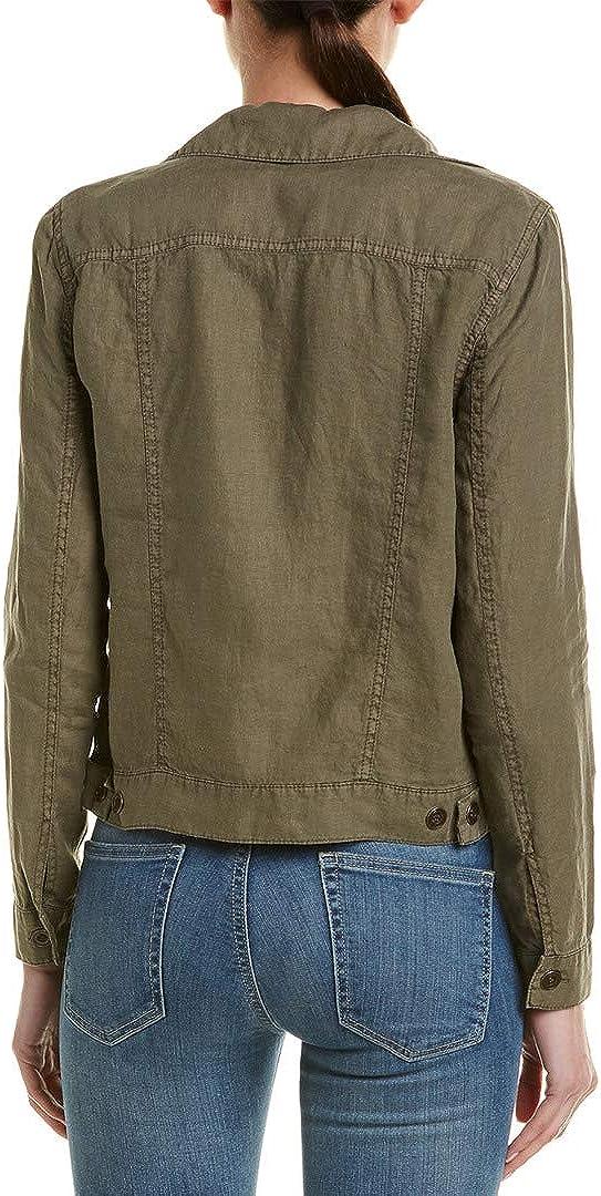Michael Stars Womens Linen Jean Jacket