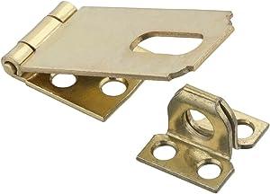 National Hardware N102-178 V30 Safety Hasp in Brass