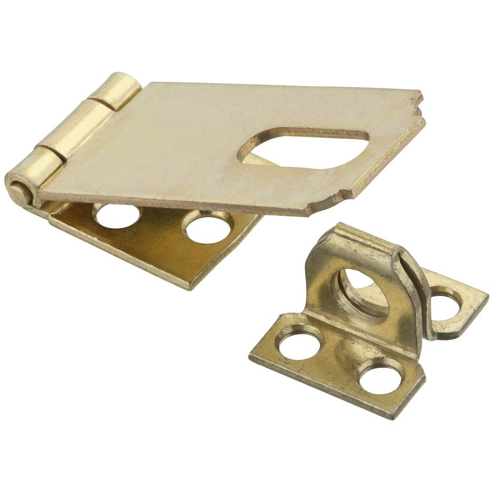 National Hardware N102 178 V30 Safety Hasp in Brass