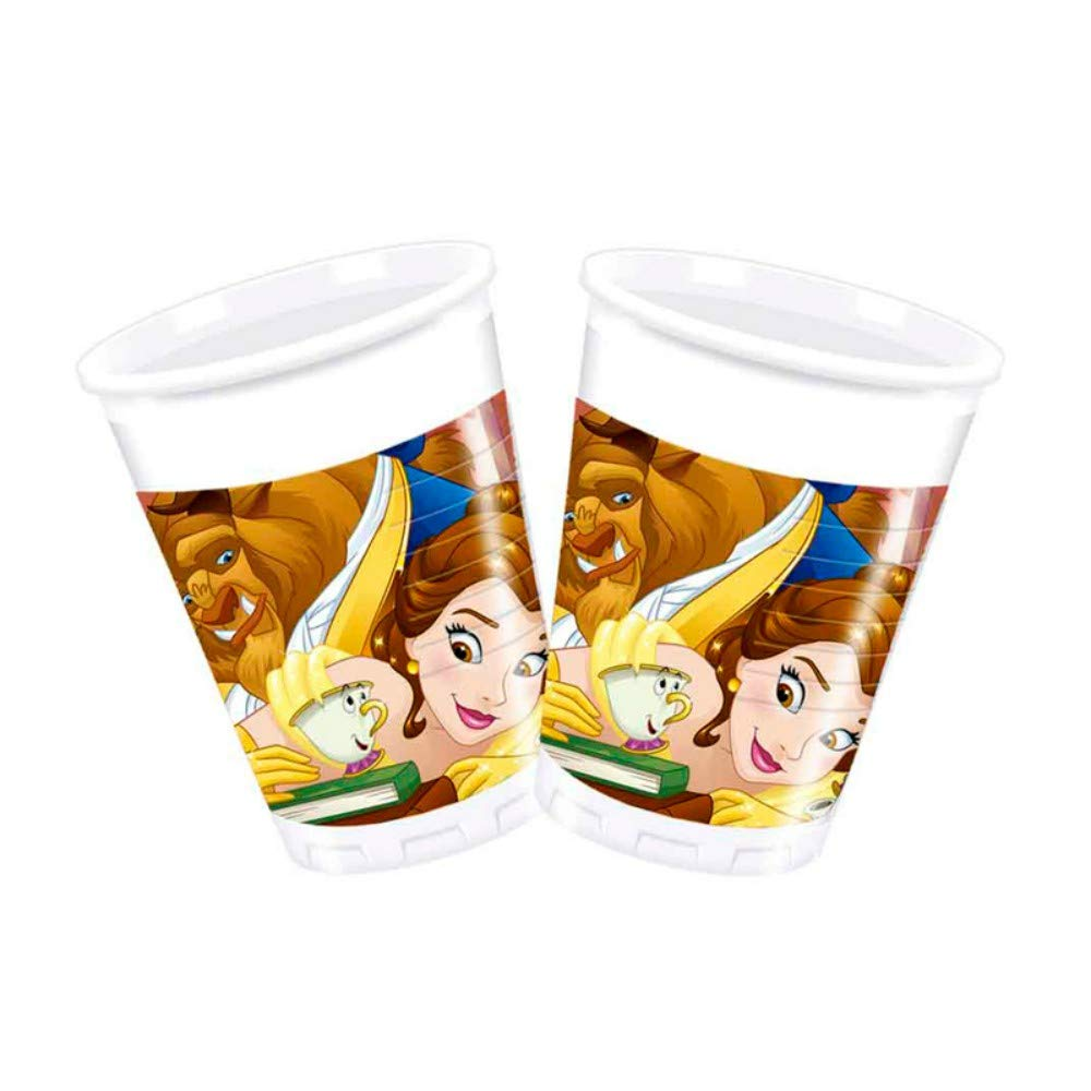 CAPRILO Lote de 24 Vasos de Infantiles Decorativos Bella y ...