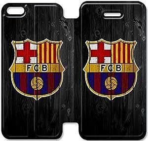 iPhone 5 5s funda,NSDFIUOSY6944 Flip cubierta y soporte para iPhone 5 5s - BARCELONA