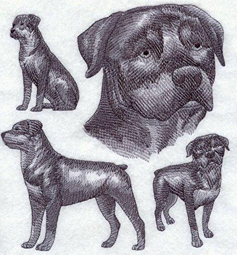 (Rottweiler Custom Embroidered Sweatshirt)