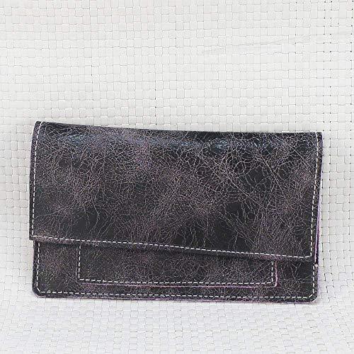 Bolsa piel morada para tabaco de liar. Estuche pitillera para picadura. Tabaquera de cuero: Amazon.es: Handmade