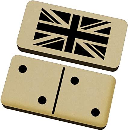 DM00009308 /'Union Jack Flag/' Domino Set /& Box