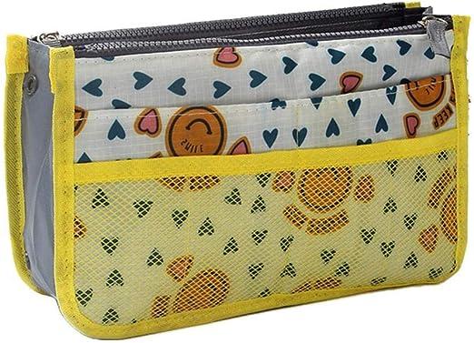 Travel Insert Organizer Handbag Liner Women Makeup Toiletries Storage Bag H