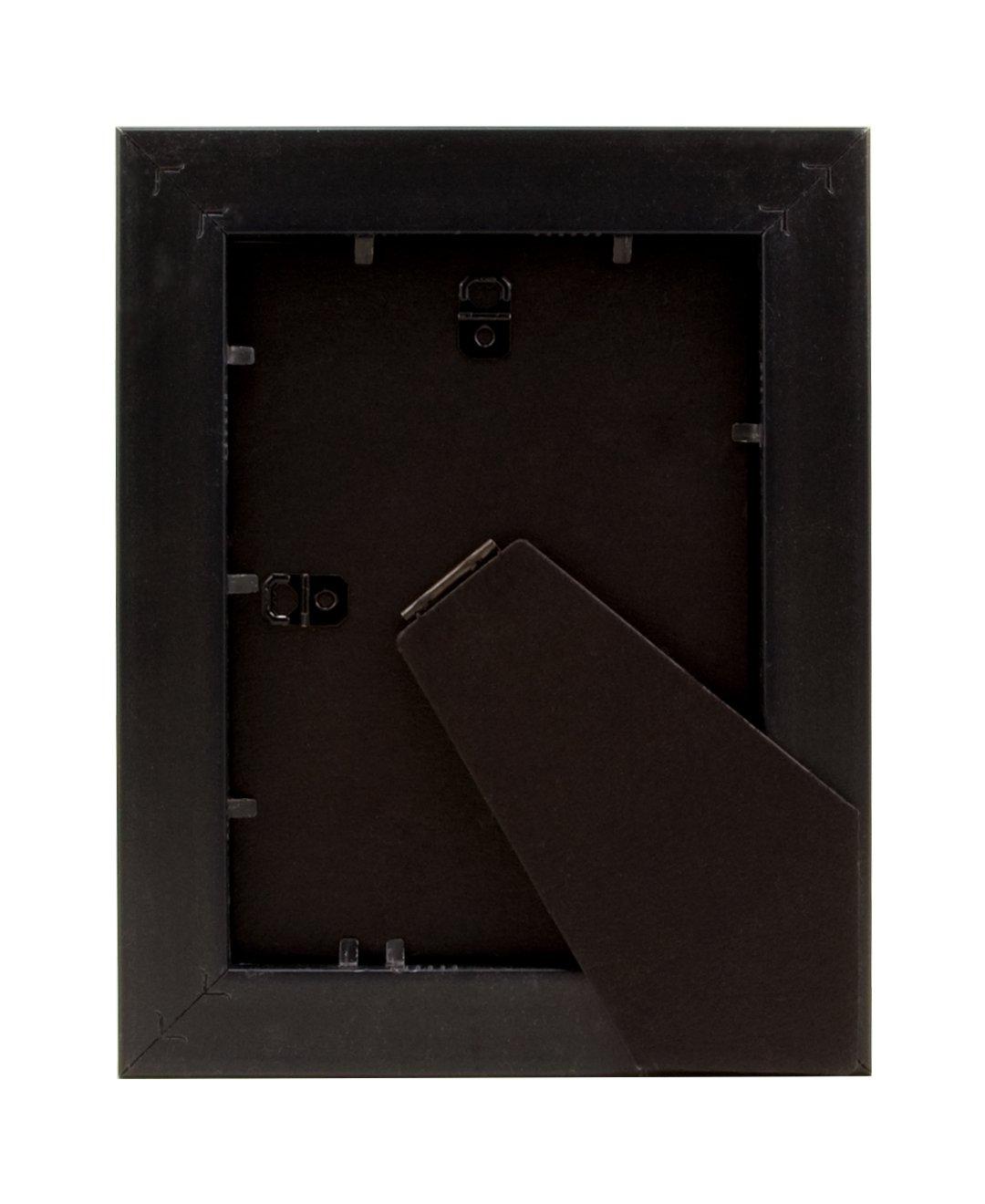 BorderTrends Noir 5x7-Inch Photo Frame Black