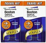 Bausch & Lomb Boston Simplus Travel Kit-1 oz, 2 pack