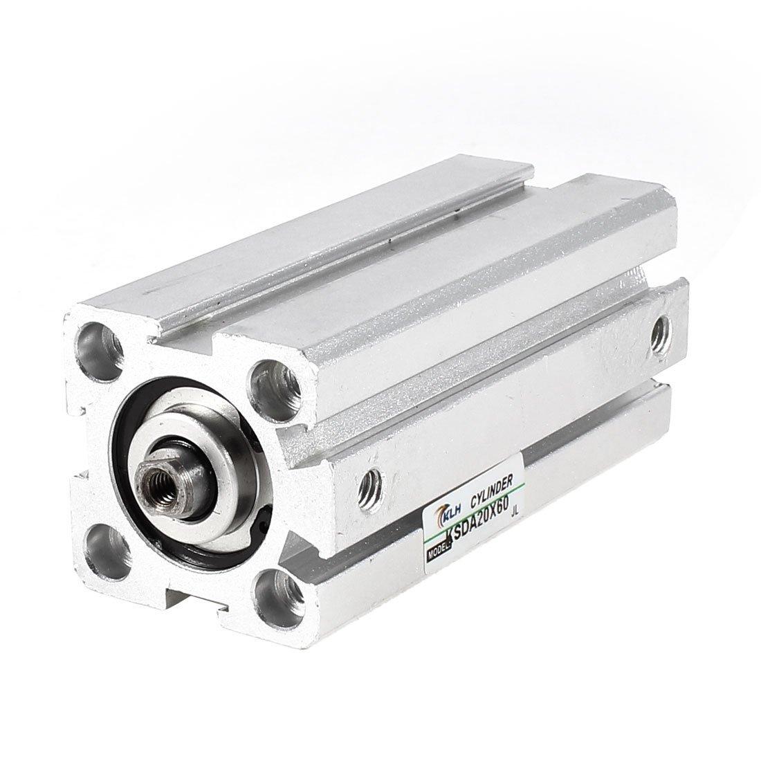 SDA20x60 20 millimetri Alesaggio 60 millimetri Corsa aria sottile cilindro pneumatico della parte di riparazione DealMux