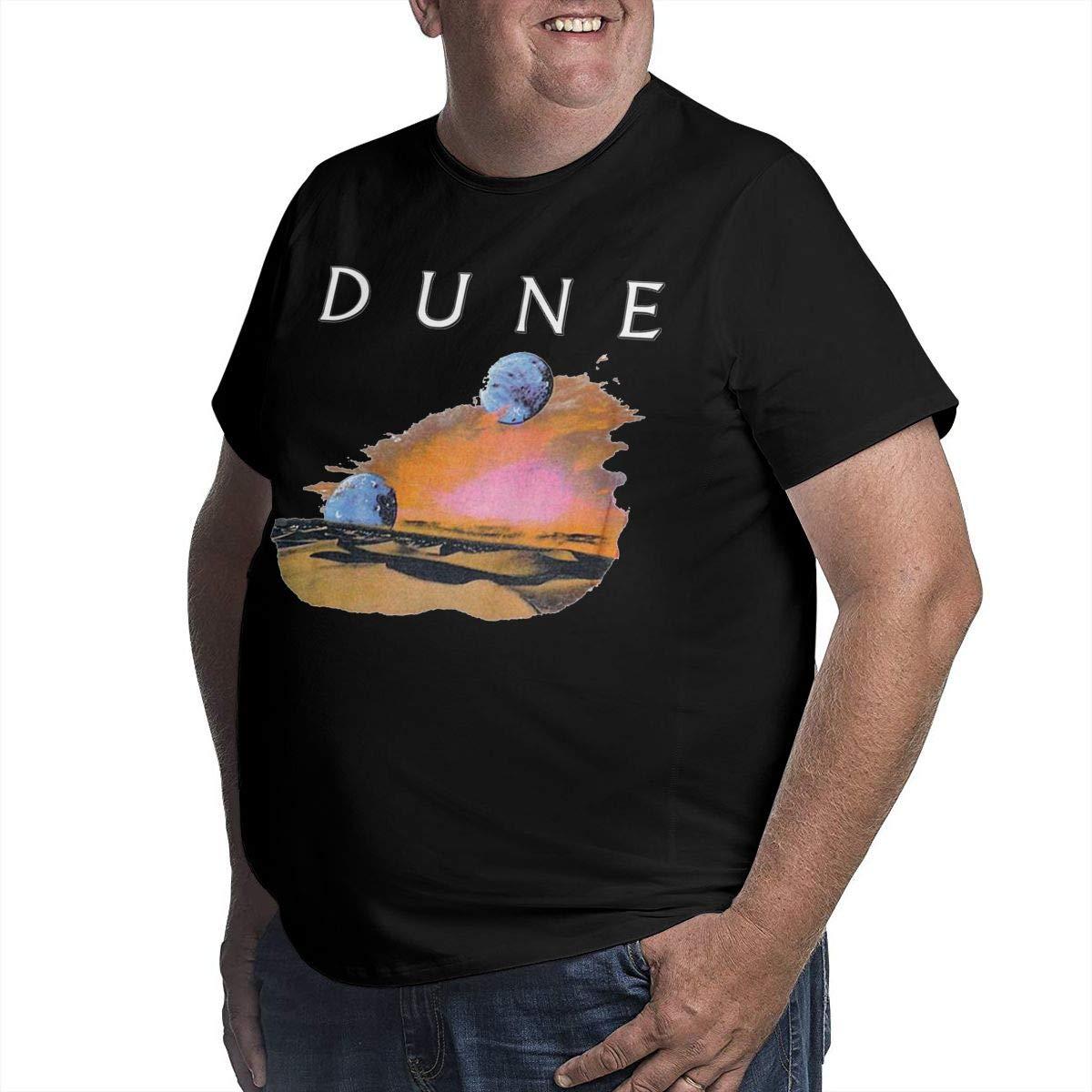 YONGCHOO JR Dune Mens Short Sleeve T-Shirt Big /& Tall Heavyweight T-Shirt