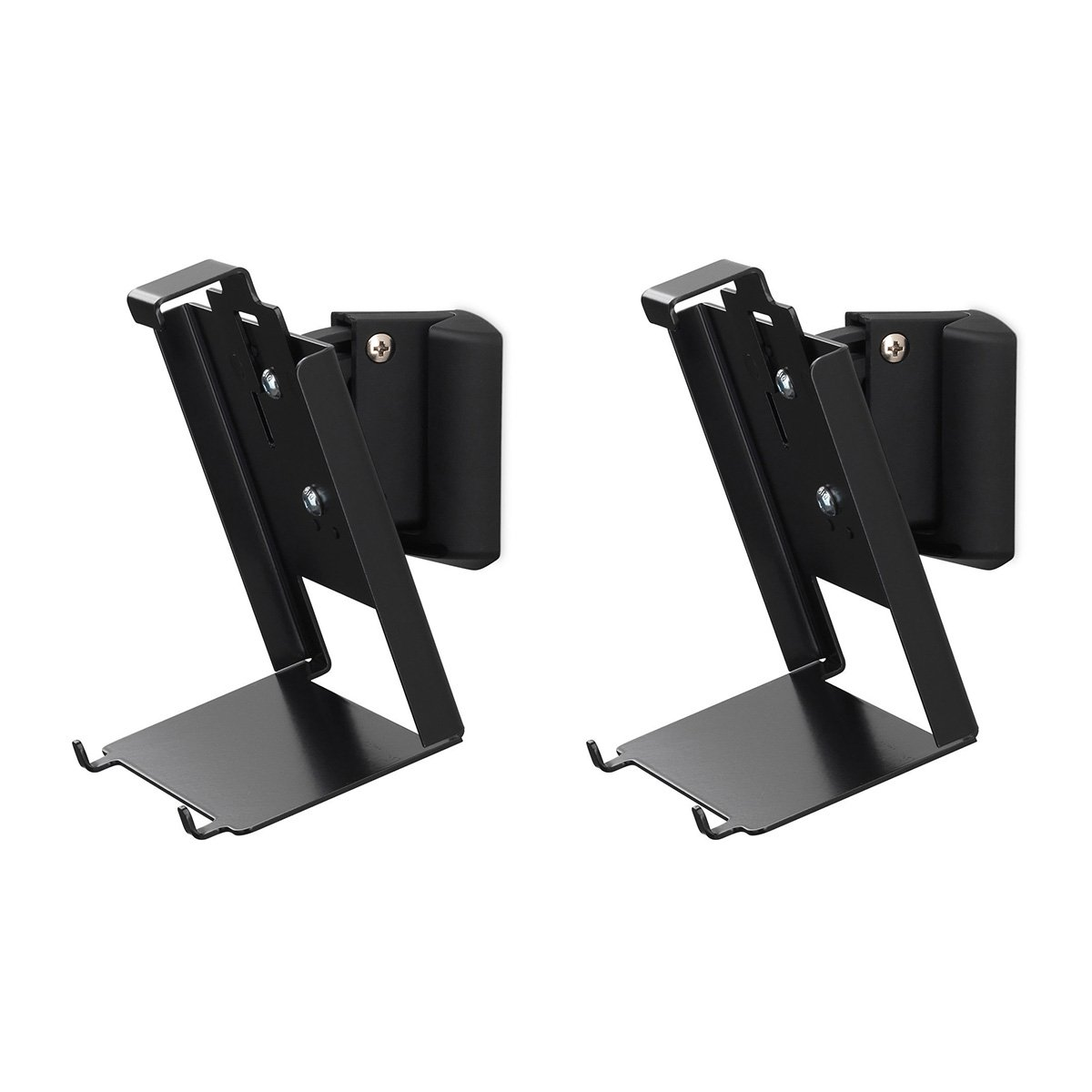 SoundXtra Wall Mounts for Bose SoundTouch 20 - Pair (Black)