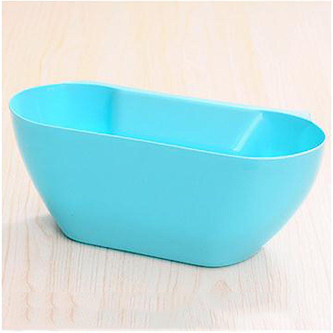 azul Cubo de basura colgante Foxom para encimera de cocina para almacenamiento y residuos de cocina 29*17*11.5cm organizador multiusos hecho de pl/ástico