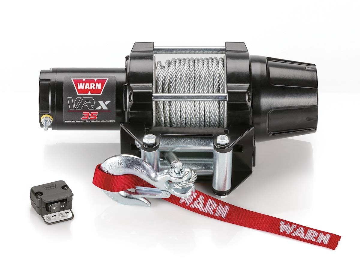 Warn Winch 3500 VRX 35 Kit [Includes Heavy Duty Winch Saver]