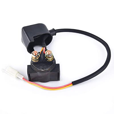 Solenoid Starter Relay for GY6 50cc 125cc 150cc Chinese ATV Dirt Bike Scooter: Automotive [5Bkhe0111730]