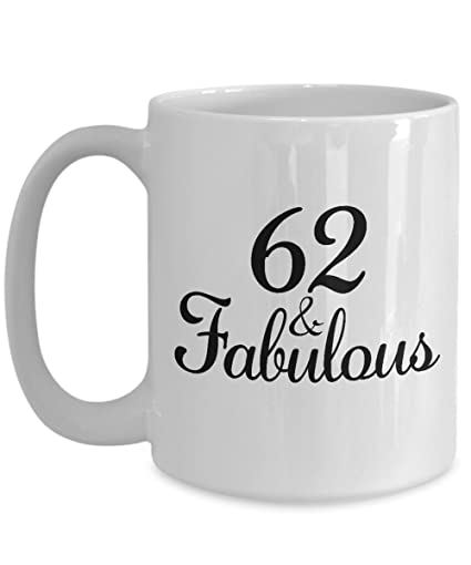 Image Unavailable Not Available For Color 62nd Birthday Gifts Ideas Women