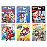 Hot Wheels Pop Culture Complete Set of 6: Super Mario Brothers by Hot Wheels