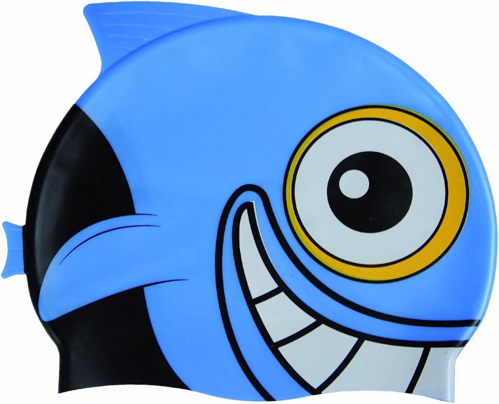 ARENA 91915 - Gorro de natación para niños (Talla única), diseño de pez, Color Azul: Amazon.es: Deportes y aire libre