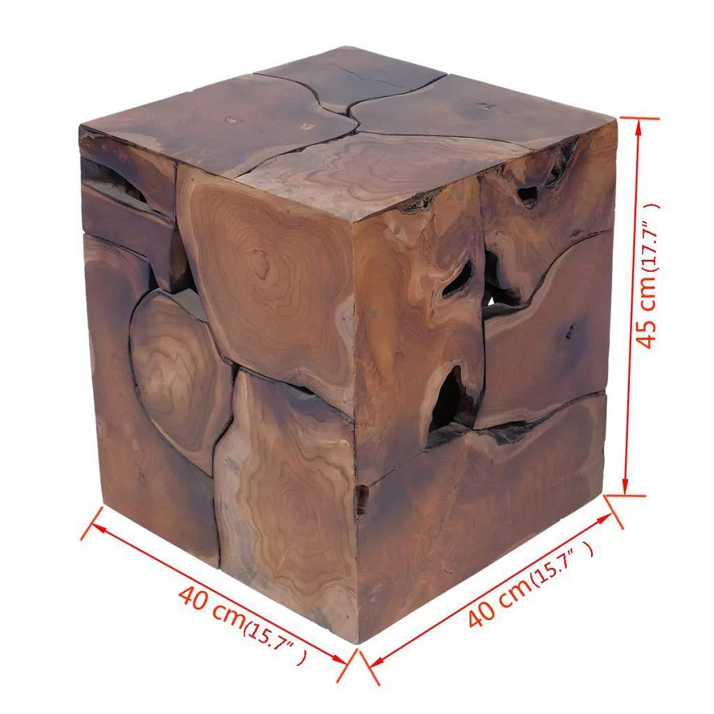 Amazon.com: CJ Online Shop - Taburete único de madera de ...