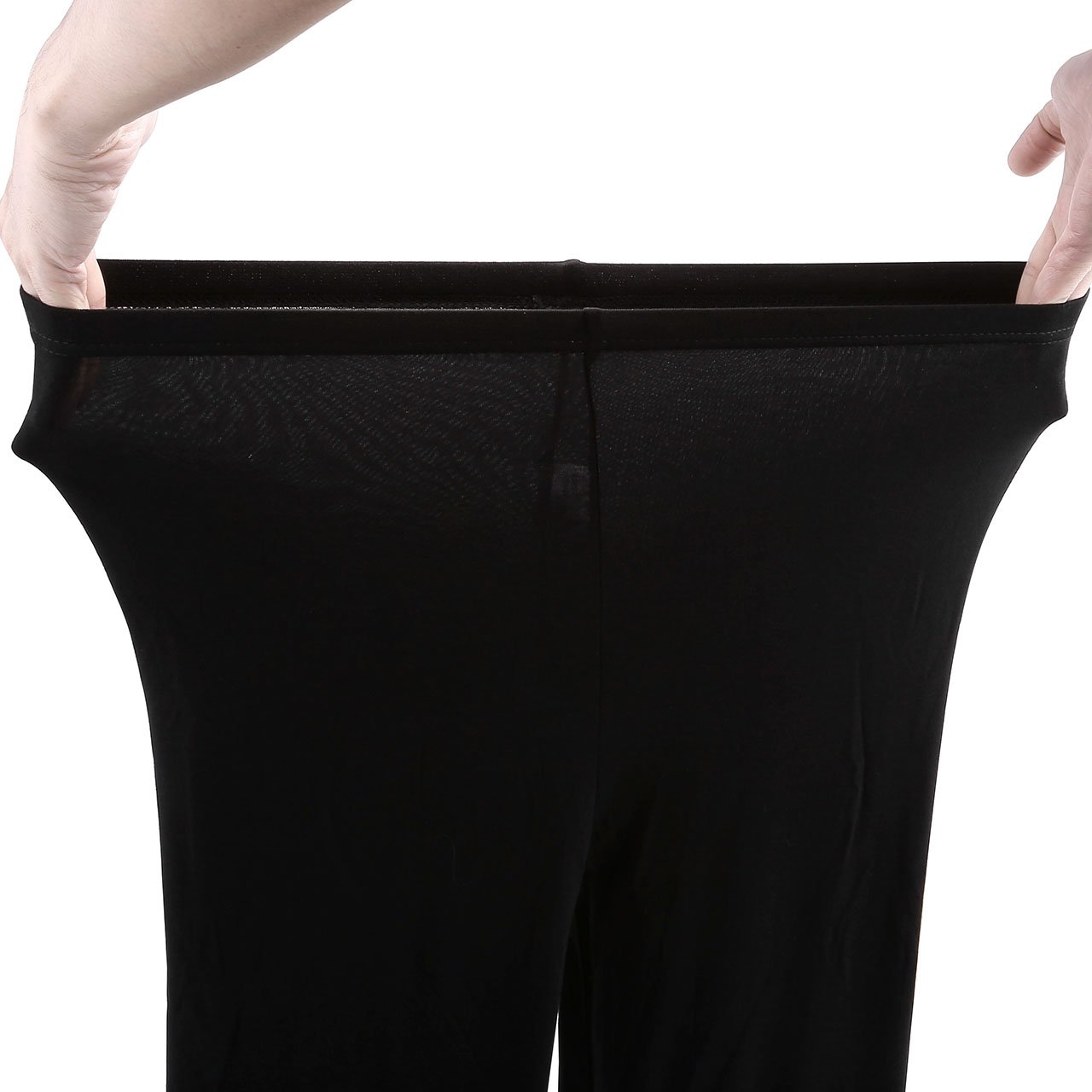 CHIC DIARY 3 Packs Women\'s Elastic Stretchy Yoga Pants Black Grey Navy Yoga Leggings Plus Size (L, Mixed(Black/Dark Grey/Light Grey))