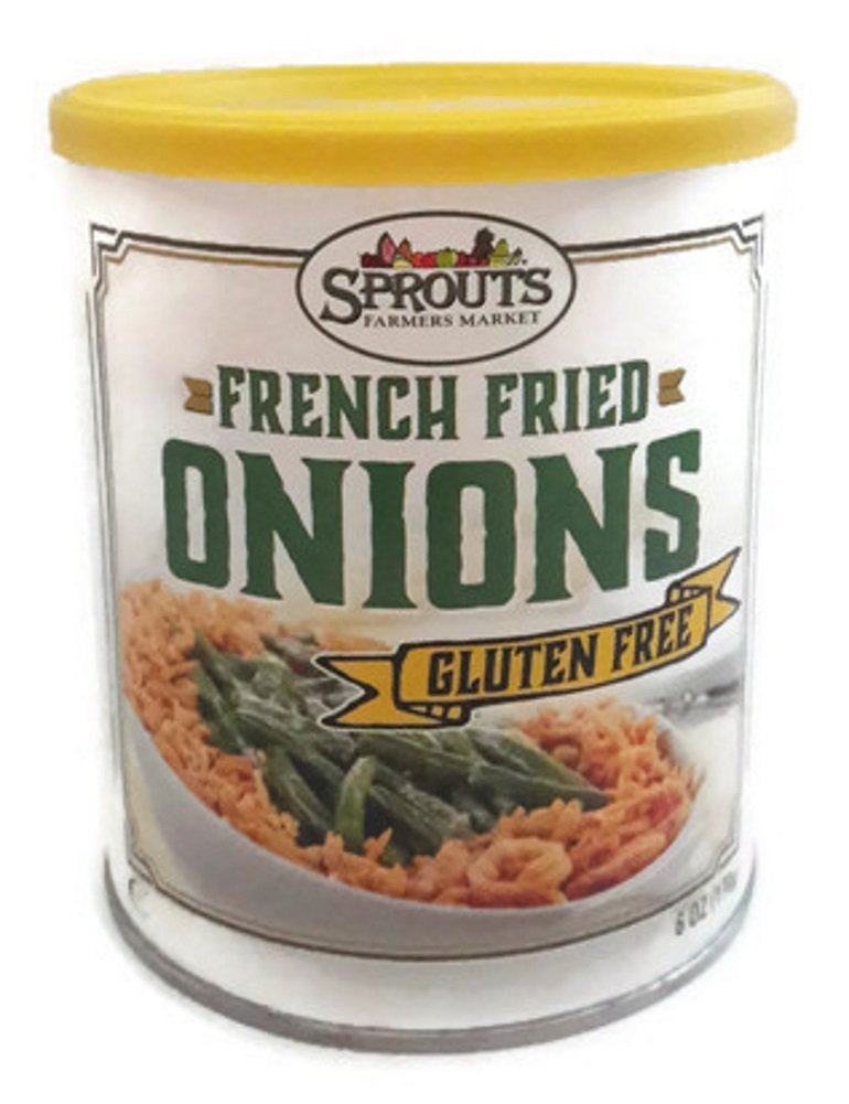 Gluten Free French Fried Onions, 6 Ounce (Pack of 2)