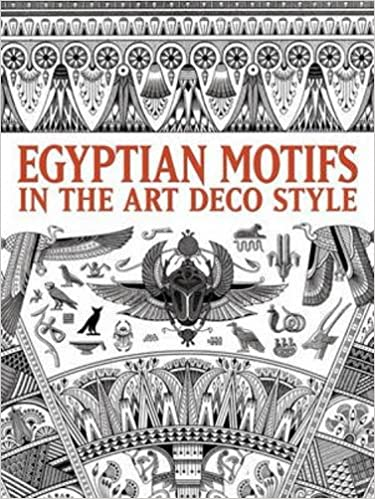 Egyptian Motifs in the Art Deco Style (Dover Pictorial Archive ...