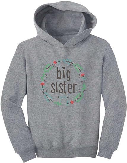 Gift for Big Sister Siblings Gift Girls Toddler Hoodie Siblings Shirts