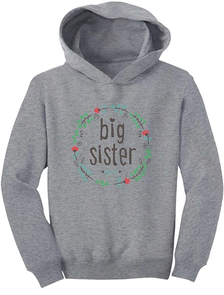 TeeStars - Big Sister for Big Sister Toddler Hoodie GM0Pl3lgvm