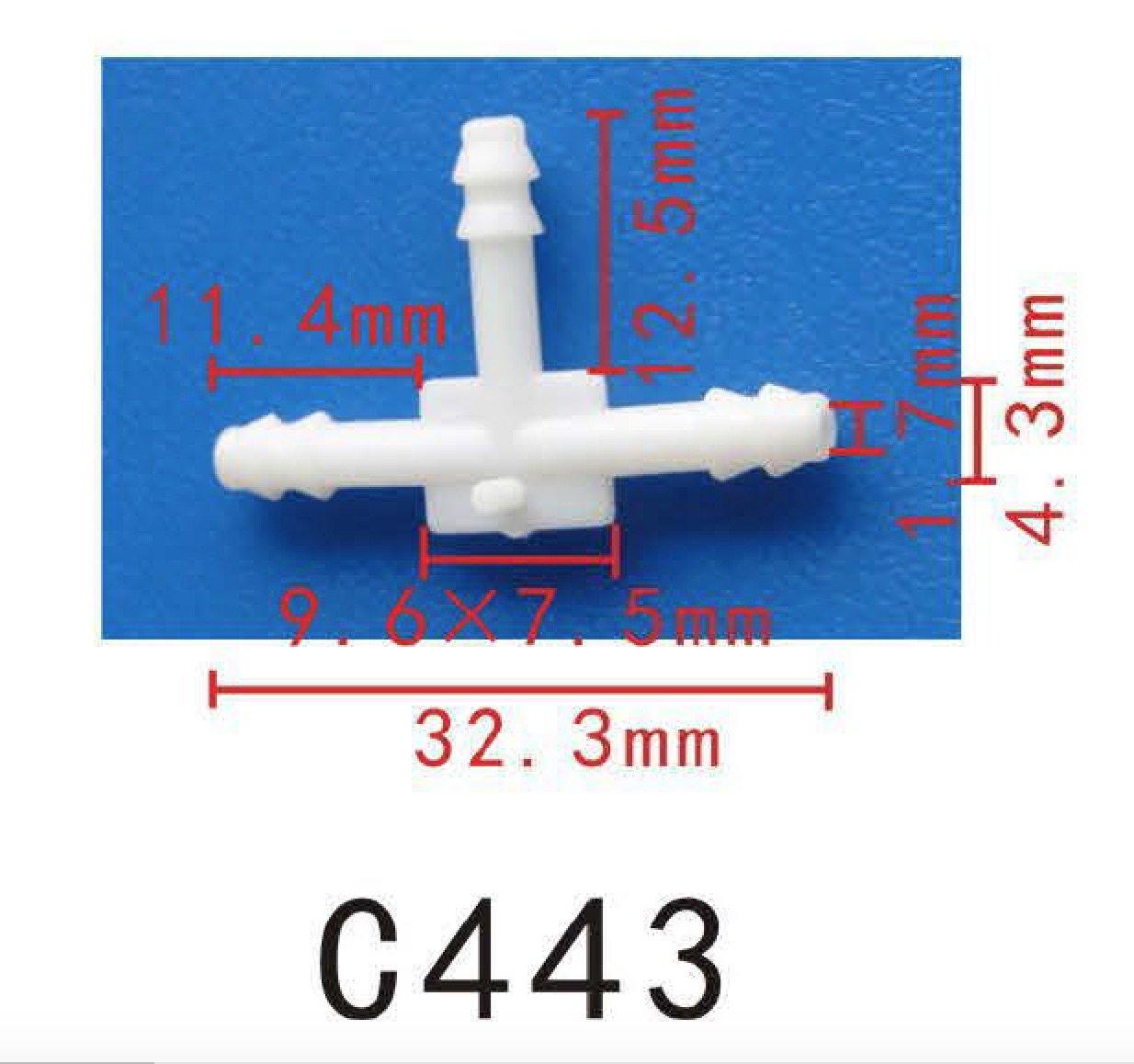 5 Feet per reel Autobahn88 High Performance Silicone Vacuum Hose OD 0.71 Black 12mm ID 0.47 1.5 Meter 18mm