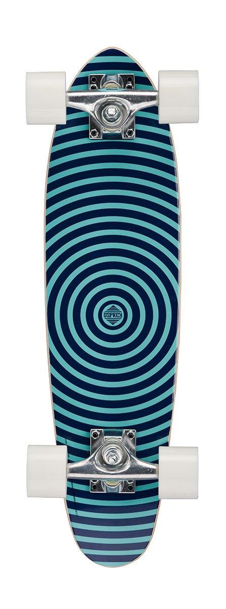 Osprey Mini Cruiser Spiral - Skateboard (Need to be reviewed, Arce), Color Azul, Talla UK: 24 Inch TY5349
