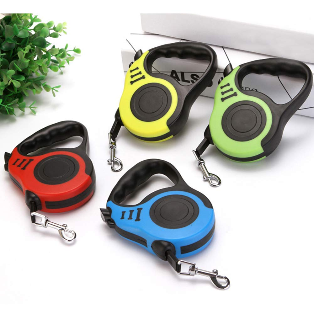 3 m Colore: Blu Automatico Lunghezza 3//5 m zNLIgHT Flessibile Guinzaglio Retrattile per Cani e Cuccioli