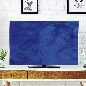VANKINE - Funda para televisor LCD (Resistente Durabilidad), diseño de Ancla, Color Turquesa: Amazon.es: Electrónica