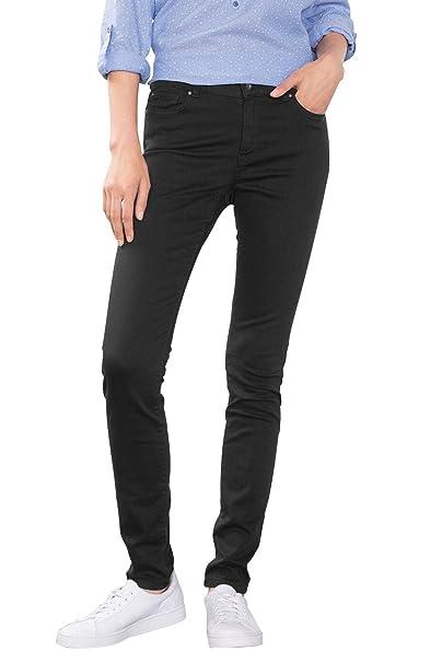 60ad90cde2e3 edc by ESPRIT 086cc1b038, Pantaloni Donna, Nero (Black), W32/L30 (Taglia  Produttore: 32/SHO): Amazon.it: Abbigliamento
