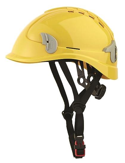 La Industria Casco Rigger Casco para trabajar en la altura Amarillo