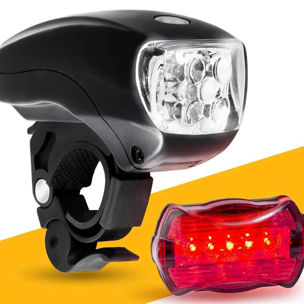 Alfombrillas y moquetas Accesorios para coche Lámpara Trasera de Bicicletas conducción Nocturna de Alto Brillo de la luz Delantera Conjunto Ciclo al Aire Libre Linterna LED de luz Trasera Regard L