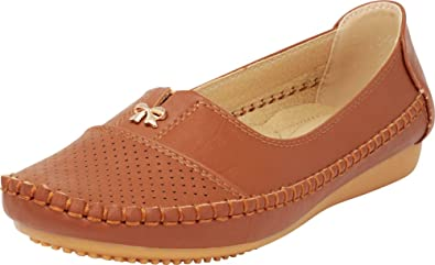 Cambridge Select Womens Round Toe Whipstitch Perforated Slip-On Comfort Driving Loafer Flat,8.5