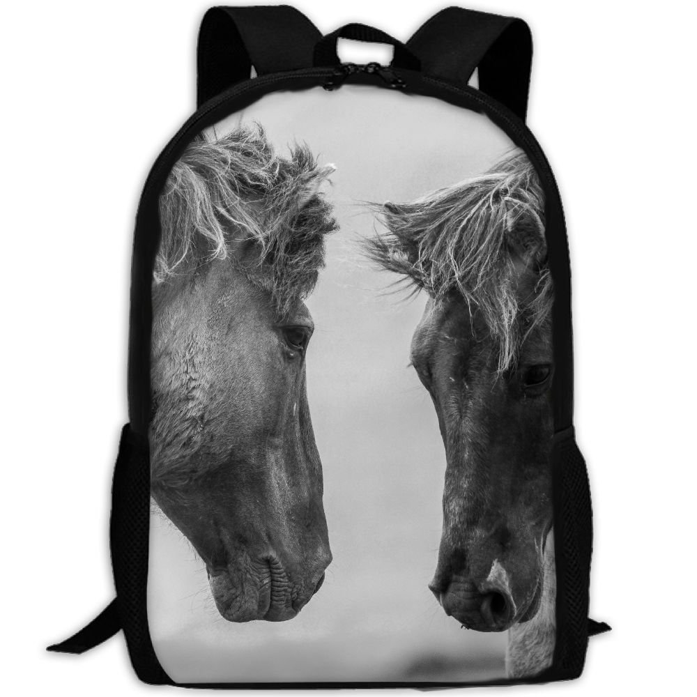 4199dc44621a ZQBAAD Mighty War Horse Luxury Print Men And Women s Travel Knapsack outlet