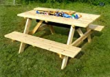 Merry Garden Cooler Wooden Picnic Table and Bench