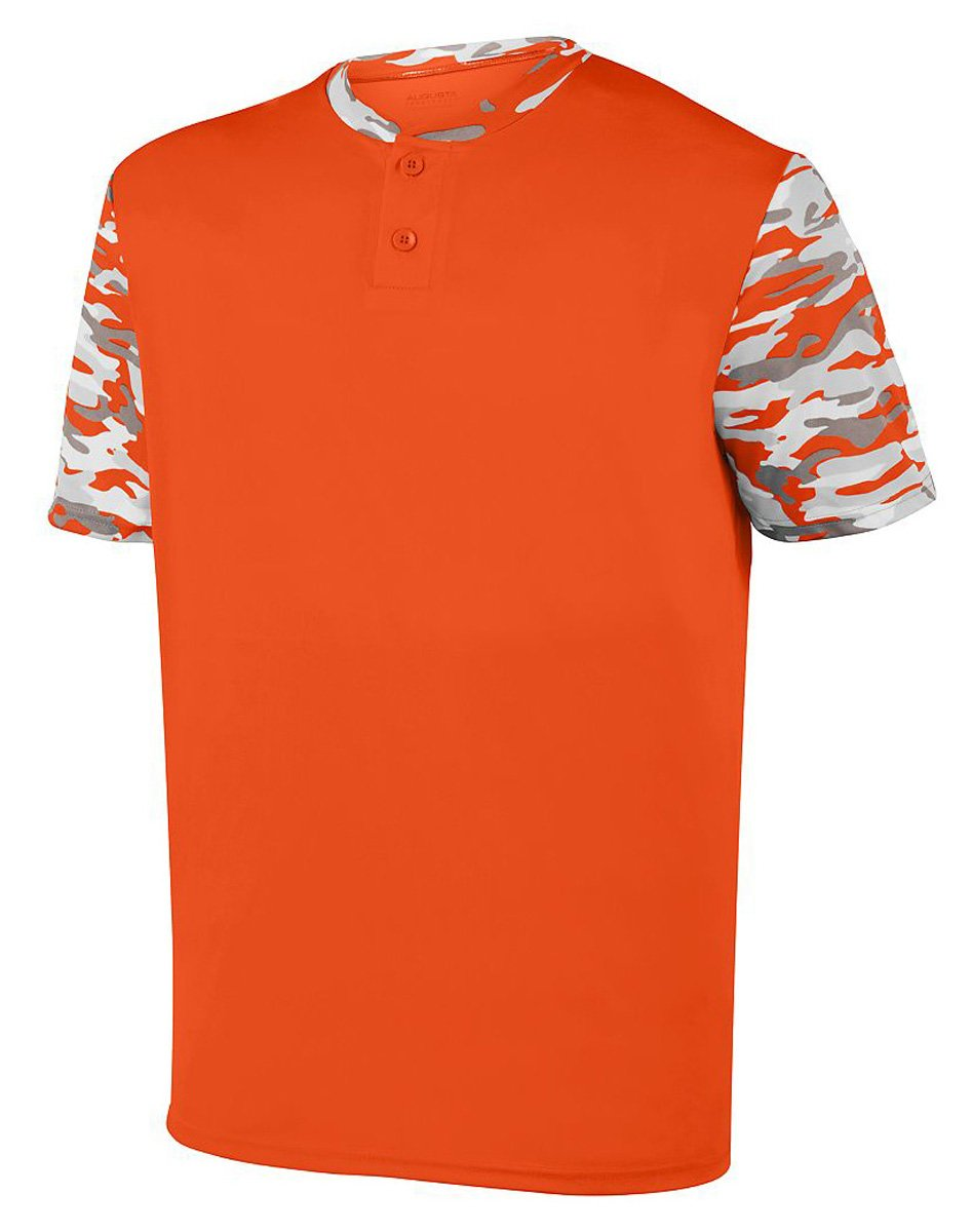 Augusta SportswearメンズPop Fly Jersey B01MCSWUE6Orange/Orange Mod L